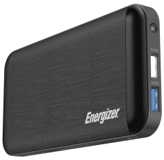 Energizer Power Bank, 10000mAh, 3 Ports, Black - UE10030MP