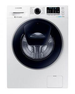 Samsung Front Loading Washing Machine, 9 KG, White - WW90K5410UW/AS