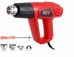 MPT Professional Heat Gun, 2000 Watt, Black/Red-MHG2003