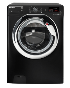 Hoover Front Load Automatic Washing Machine, 7 KG, Black- DXOC17C3B-ELA