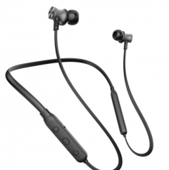 Riversong In-Ear Headphone Wireless With Mic, EA65-BLACK, Black