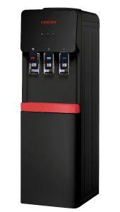 Caseoni Hot and Cold and Normal Water Dispenser with Fridge- Black