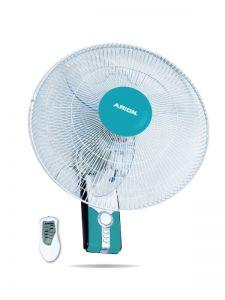 Arion Boeing Wall Fan with Remote Control, 18 Inch, Blue - WF-1804