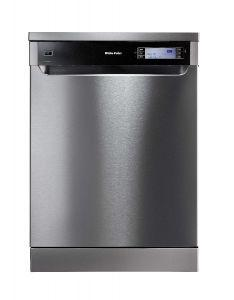 White Point Free Standing Dishwasher,14 Persons, 10 Programs, Silver- WPD1410HDX