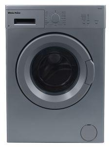 White Point Front Load Automatic Washing Machine, 5 KG, Silver- WPW5813DS
