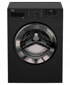 Beko Front Loading Washing Machine, 7 Kg, Black - WTV 7512 XBC