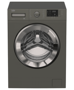 Beko Freestanding Washing Machine, Front Load With Inverter Motor, 8KG, Grey - WTV8612XMCI