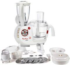 Moulinex Food Processor 1000 Watt, Multi Functions, White - FP7361BM