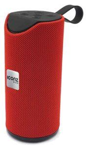 ICONZ Powerful Bluetooth Stereo Speaker, Red - XSP03R