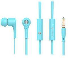 Yison Celebrat Wired In-ear Earphones with Microphone, Blue - D3