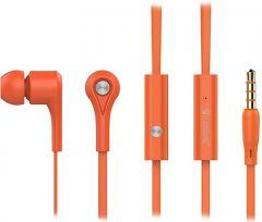 Yison Celebrat Wired In-ear Earphones with Microphone, Orange - D3