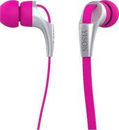 Yison Stereo Wired In-Ear Earphones with Microphone, Pink - CX330