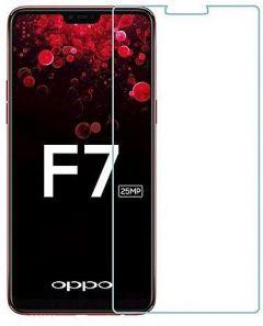 Tempered Glass Screen Protector For Oppo F7 - Clear