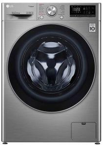 LG Vivace Front Load Automatic Washing Machine, 9 KG, Silver- F4R5VYG2T