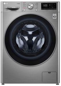 LG Front Load Automatic Washing Machine With Dryer, 8 KG, Silver- F4R5TGG2T