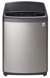 LG Top Load Automatic Washing Machine, 19KG, Inverter Motor, Silver- T1993EFHSK5