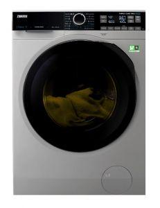 Zanussi Front Load Washing Machine, 10 KG, Silver - ZW8F1168MS