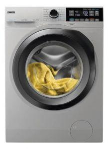 Zanussi Front Load Washing Machine with Dryer, 10KG, Silver - ZWD11683NS