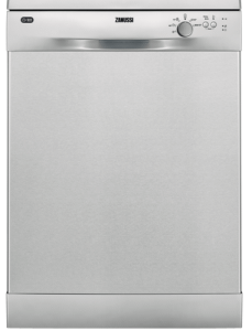 Zanussi Freestanding Dishwasher, 13 Place Settings,Stainless Steel- ZDF22002XA