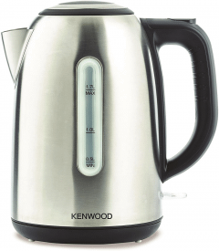 Kenwood Electric Kettle, 1.7 Liter, 2200 Watt, Stainless steel - ZJM01.A0BK