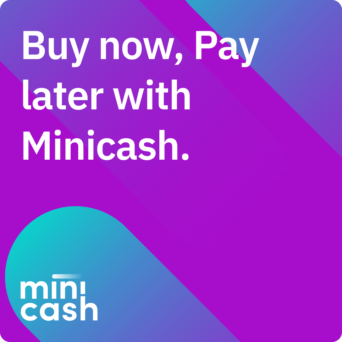 Buy Now, pay later with Minicash